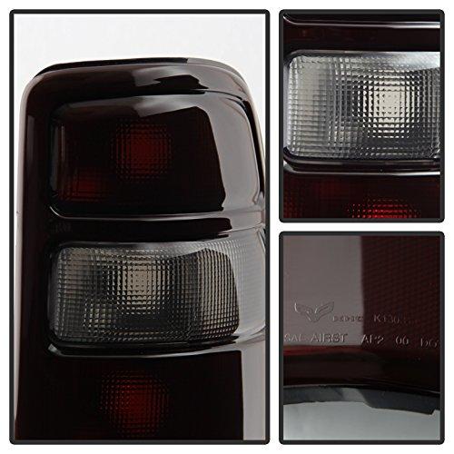 Xtune ALT-JH-CSUB04-OE-RSM Chevy GMC Tail Light