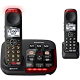 Panasonic KX-TGM430B Bluetooth Amplified Cordless Phone (2 Handsets)