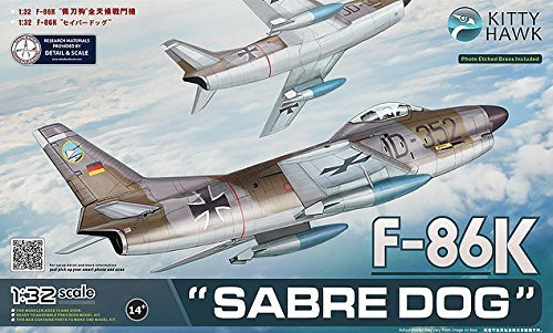 KTH32008 1:32 Kitty Hawk F-86K Sabre Dog [MODEL BUILDING ()