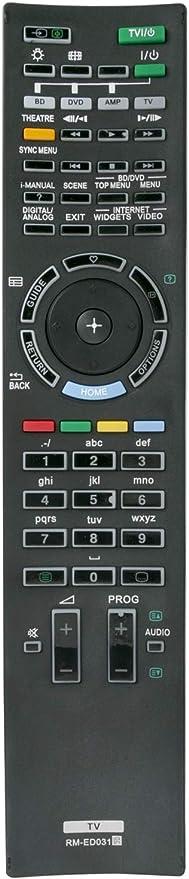 ALLIMITY RM-ED031 Mando a Distancia reemplazado por Sony Bravia LCD TV KDL-40NX700 KDL-40NX705 KDL-40NX800 KDL-40NX803 KDL-40NX805 KDL-46NX700 KDL-46NX705 KDL-52NX800 KDL-52NX805: Amazon.es: Electrónica