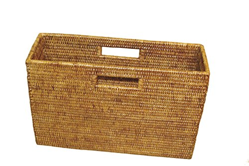 Artifacts Trading Company Artifacts Rattan Basket Honey Brown ()