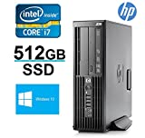 HP Z200 i7 Workstation Desktop Computer - Core i7 2.93GHz up to 3.6GHz - *NEW* 512 + 750GB HDD - 16GB RAM - WiFi - Display port Output - Windows 10 Pro 64 - Refurbished