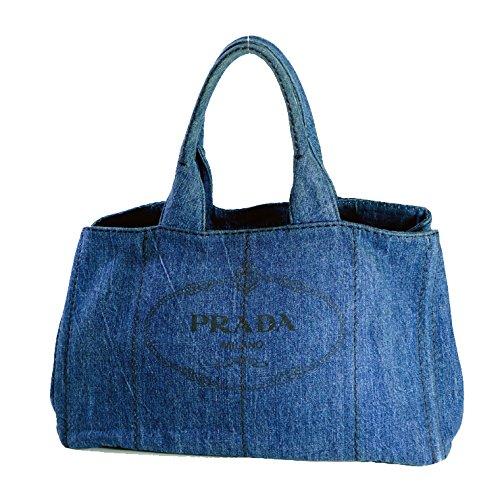 PRADA(プラダ) カナパ B1872B ブルー [中古] B06ZY37RFW