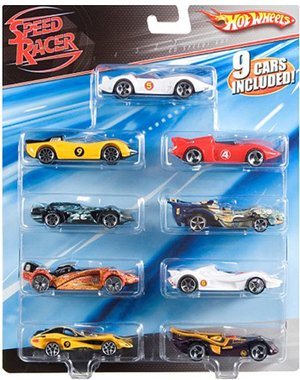 Speed Racer Deluxe 9- pack (Speed Racer Deluxe Racer)