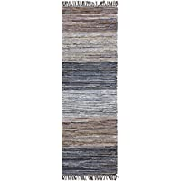 Surya DNM1000-268 Hand Loomed Casual Runner Rug, 2-Feet 6-Inch by 8-Feet