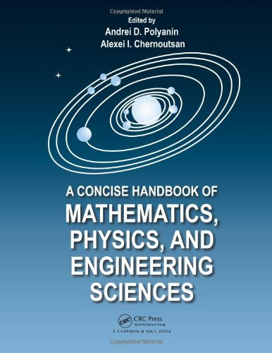 A Concise Handbook of Mathematics, Physics, and Engineering Sciences Front Cover