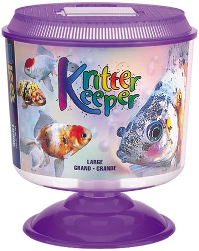 Lee's Kritter Keeper, Large Round w/Lid and Pedestal