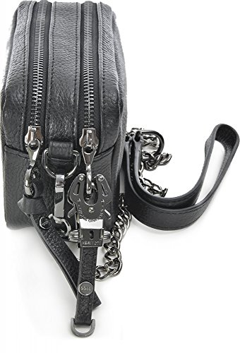 George Gina & Lucy Leather Nown Little Lilith Sac à bandoulière noir