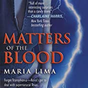 Matters of the Blood (Blood Lines, Book 1) | Maria Lima
