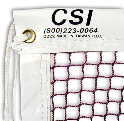 CSI Cannon Sports Tournament Grade 21-ft Badminton Net