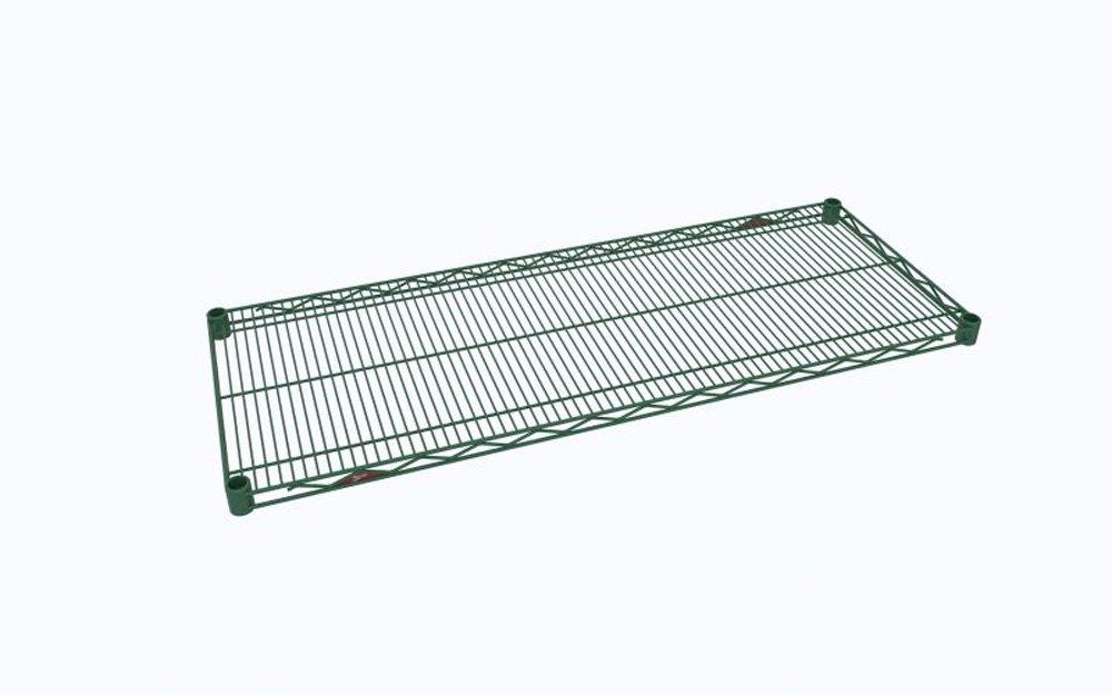 Metro 1842NK3 Super Erecta Metroseal 3 800 lb 1 Height x 42 Width x 18 Depth Steel Industrial Wire Shelf with Microban Capacity Pack of 4