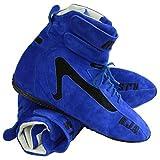 RJS Racing Equipment PAIR OF RJS BLUE HIGH-TOP DRIVING SH...