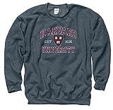 Harvard University Arch Seal Crew Neck Sweatshirt S Charcoal