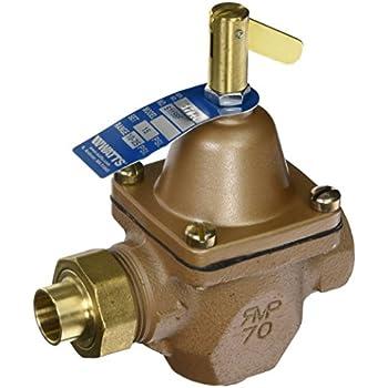 "WATTS BRASS & TUBULAR SB1156F 1/2 1/2"" Boil WTR Regulator"