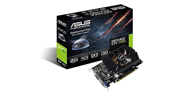 Amazon.com: ASUS NVIDIA GeForce GTX 750 Ti Tarjeta Gráfica ...
