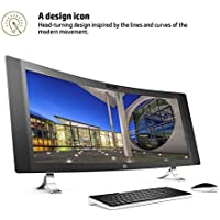 HP ENVY 34 CURVED Desktop 500GB SSD 32GB RAM (Intel Core i7-6700K processor - 4.00GHz with TURBO BOOST to 4.20GHz, 32 GB RAM, 500 GB SSD, 34 WQHD LED (3440x1440), Win 10) PC Computer All-in-One