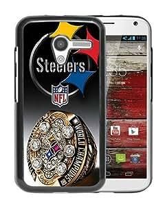 Pittsburgh Steelers Black Popular Sell Customized Design Motorola Moto X Case