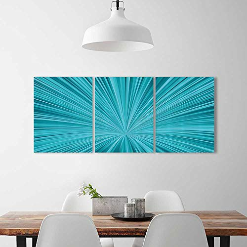 3 Pieces Modern Wall Art Decor Frameless Abstract Vortex Fireworks Celebrati Stylized Mochrome For Home Print Decor For Living Room W24