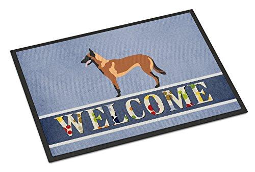 """Caroline's Treasures Malinois Belgian Shepherd Doormat, 18"""" x 27"""", Multicolor"""