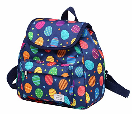 MIETTE Mini Small Purse Backpack Cute for Women, Easter Eggs