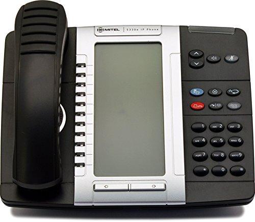 - Mitel 5330e VoIP Dual Mode Gigabit Phone (50006476) (Renewed)