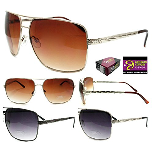 Wholesale-Lot-of-12-Unisex-Georgio-Caponi-Assorted-Sunglasses-UV-400