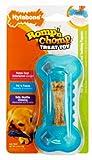 Nylabone Romp 'N Chomp Freezer Bone with Treat for Dogs Under 15-Pound, Petite, My Pet Supplies