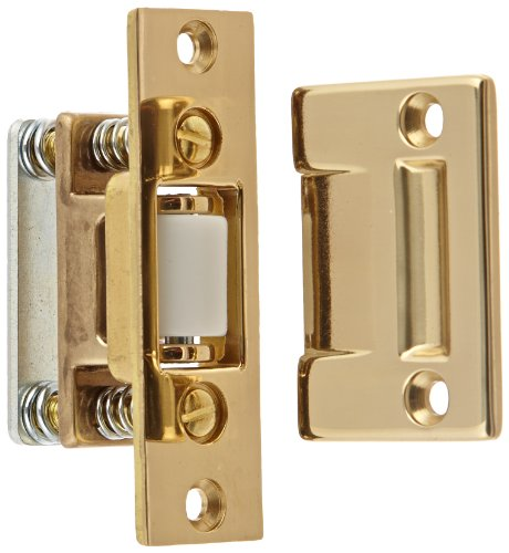 Rockwood 590.3 Brass Roller Latch with Cast Strike, 1