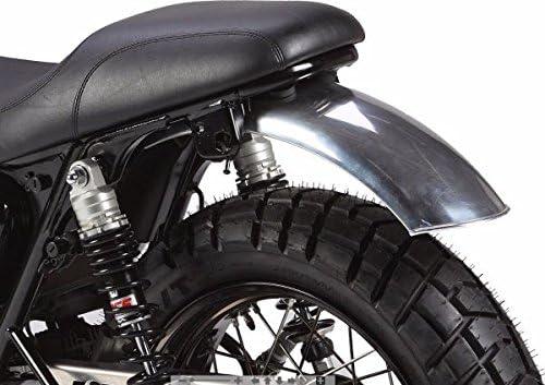 Parafango Posteriore Liscio Alluminio 600//180 MM Universale Moto Custom