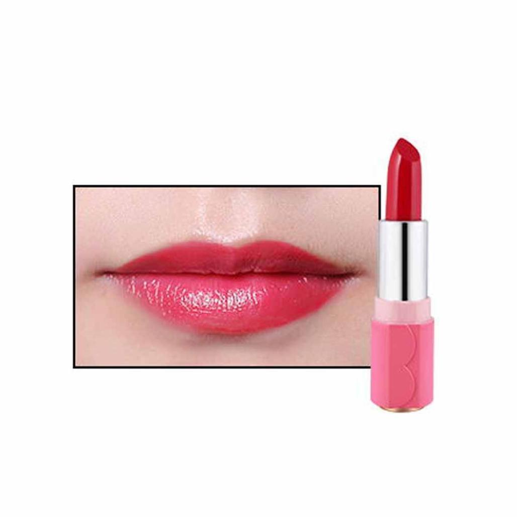 Waterproof Lipstick Beauty Lip Glosses, Sexy Long Lasting Lip Stains & Tints, Moisturizing Lip Gloss Not Stick On Cup (A) Mingfa.y