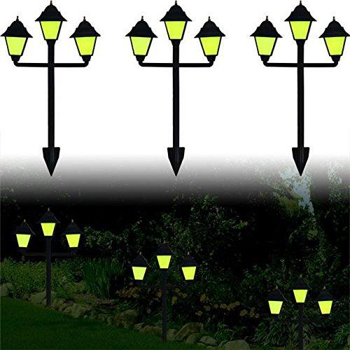 Trademark Poker Set of 3 Glow-in-the-Dark Classic Lamp Style Luminaries /RM#G4H4E54 E4R46T32591352