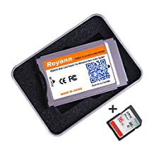 Hikig PCMCIA Convert to SD / SDHC Card Adaptor For Mercedes Benz C, E, S, GLK, CLS Class COMAND APS System with PCMCIA Slot support 32GB SDHC (PCMCIA Adapter Only)