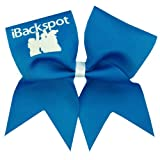 Chosen Bows New iBackspot Cheer Bow, Neon Blue