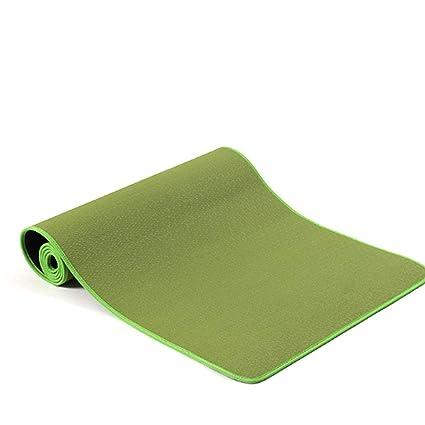 Amazon.com : QIANGYUE Yoga Mat Eco Friendly Ingredients TPE ...