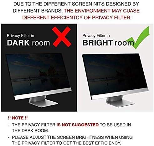 Premium Privacy Screen Protector Compatible with 15.6 ThinkPad T570 L580 E580 E590 T580 T590 Laptop,ThinkPad T570 L580 E580 E590 T580 T590 Privacy Screen Protector LEZE