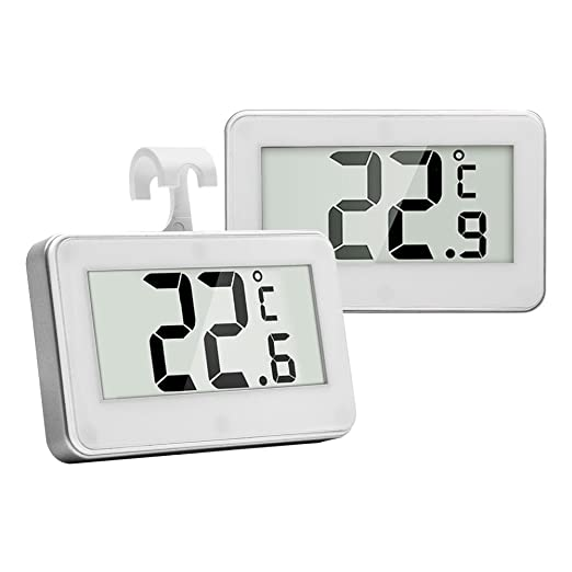 Frigorífico Congelador termómetro, termómetro digital resistente ...