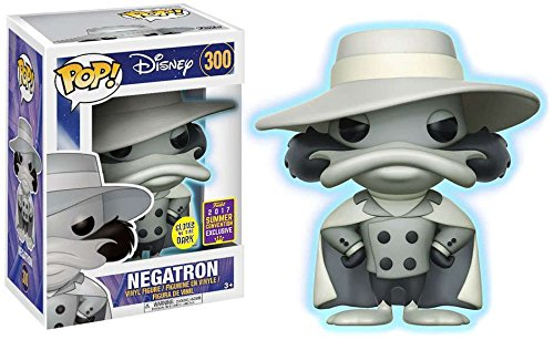 Darkwing Duck Funko POP! Disney Negatron Exclusive Vinyl Figure #300 [Glow-in-the-Dark]