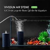 VIVOSUN Air Stone 2PCS 4 X 2 Inch Large Air Stone