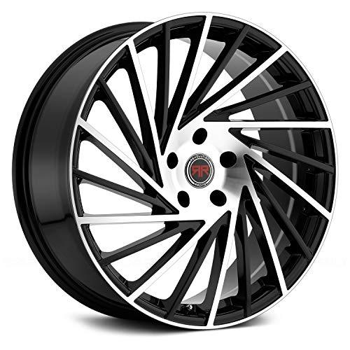 Racing Revolution - Revolution Racing RR13 Сustom Wheel - Black with Machined Face 20