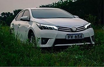 GOWE Faros Delanteros para Toyota Corolla 2014-2016 Altis LED Faro DRL Bi Lente de