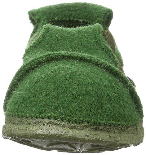 Nanga Berg Jungen Flache Hausschuhe Grün Dunkelgrün 98 Kath