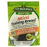 Cardinal Pet Botanics Mini Training Rewards Grain-Free Salmon Treats for Dogs (1 Pouch), 4 oz
