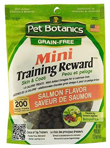 - Pet Botanics Mini Training Rewards Grain-Free Salmon Treats For Dogs (1 Pouch), 4 Oz