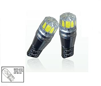 DEET® – [doble Pack] W5 W/501/T10 Bombillas LED blanco