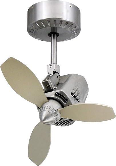 TroposAir Mustang 18″ Oscillating Indoor/Outdoor Ceiling Fan
