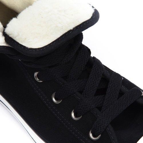 Converse Junior Chuck Taylor Super Hi Schwarz Sneakers-UK 11 Kids