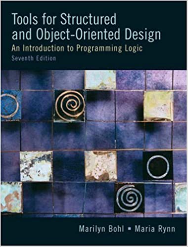 Tools for structured and object oriented design 7th edition tools for structured and object oriented design 7th edition marilyn bohl maria rynn 9780131194458 amazon books fandeluxe Gallery