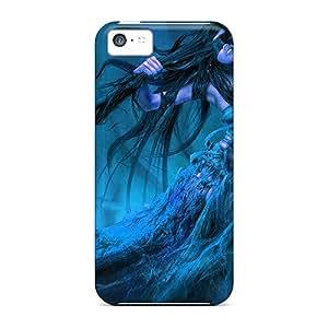 New The Blue Lady Tpu Case Cover, Anti-scratch IRINJPC1653tUeJH Phone Case For Iphone 5c