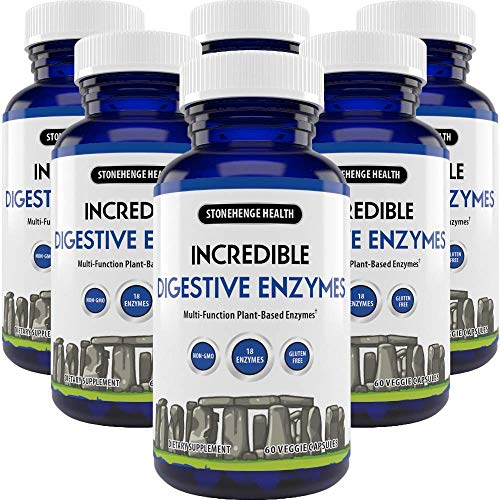 Amazon.com: Stonehenge salud increíble enzimas digestivas ...