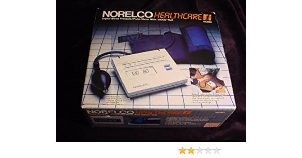 Amazon.com : Norelco Healthcare HC3001 Digital Blood Pressure/Pulse Meter : Automatic Blood Pressure Monitors : Beauty